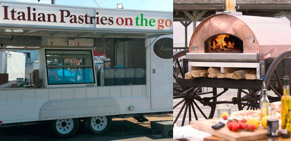On-the-Go Pizza & Pastry Trucks